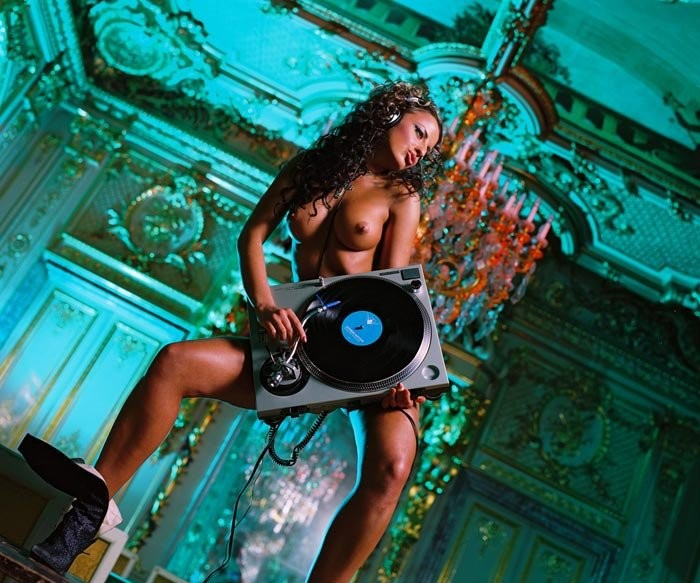 Dj blue diamond nude sexy