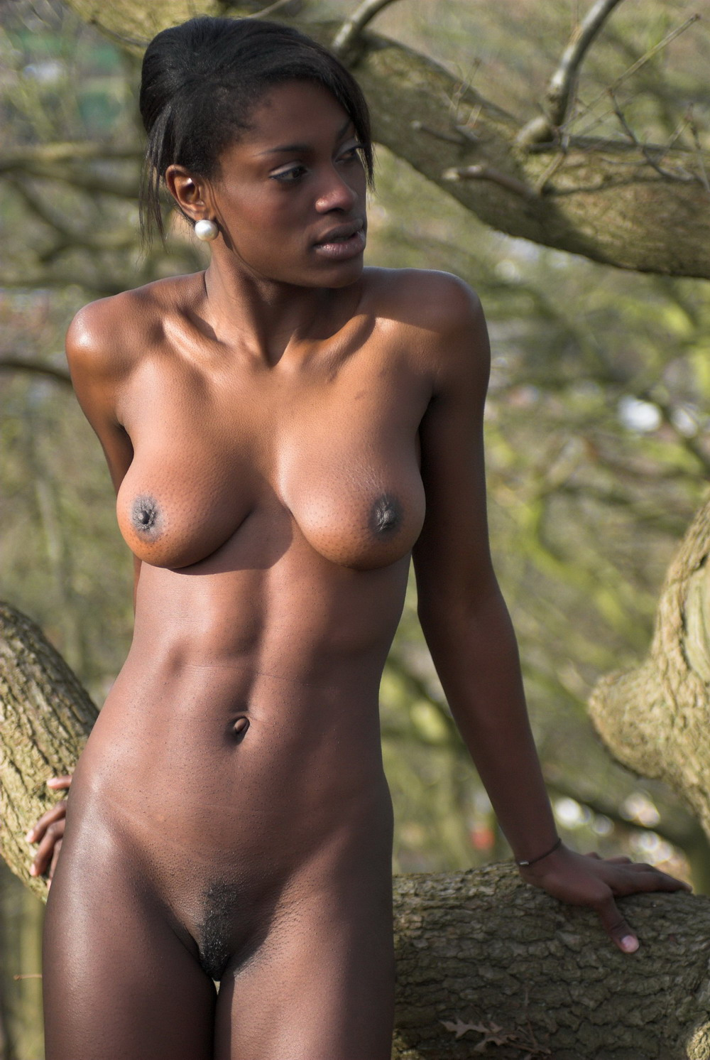 Naked african girl photo, nude sexy kiss