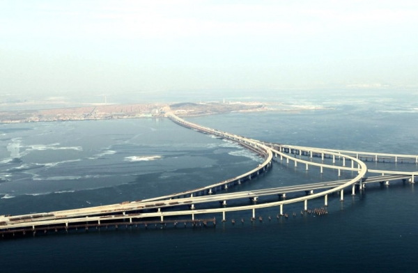 Qingdao Jiaozhou Bay Bridge - ����� ������� ���� � ���� ������� � �����